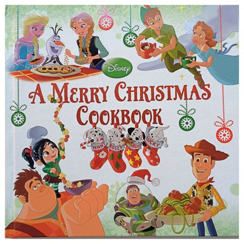 Disney's Merry Christmas Cook Book  - christmas gift ideas for kids