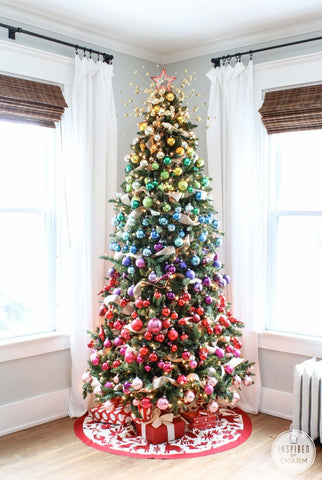 HOW TO DO A BETTER CHRISTMAS TREE THIS YEAR - Unique Christmas Tree Ideas This Mum At Home Blog.jpg 6