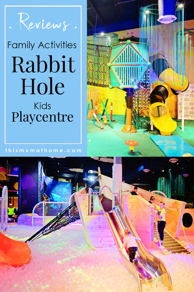 Rabbit Hole Kids Playcentre - family activities product review This Mum At Home #travel #vacation #holiday #visitmelbourne #australia #family #kidsactivities