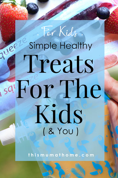 Simple Healthy Treats For The Kids & You - simple recvipes from This Mum At Home 3smoothy #recipe #icypole #yogurt #juice #organic #cleaneating #food #summer #thismumathome