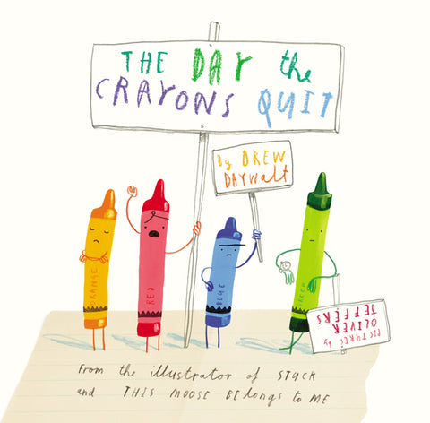 The Day The Crayons Quit -  christmas gift ideas for kids