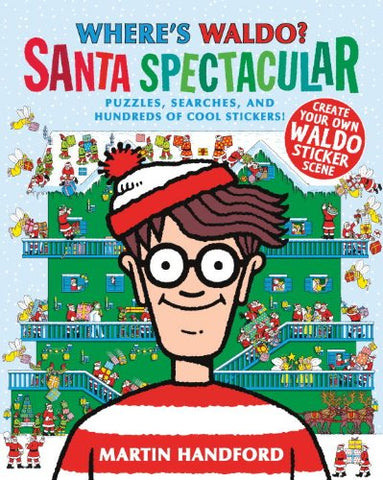 Wheres Waldo Santa Spectacular - christmas gift ideas for kids