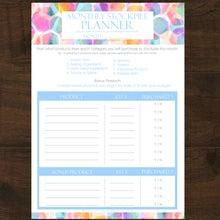 #NEW 19pk Stockpile Planner Printables - INSTANT DOWNLOAD
