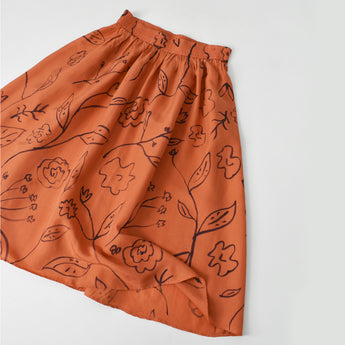 vintage funnel neck cotton tunic (s)
