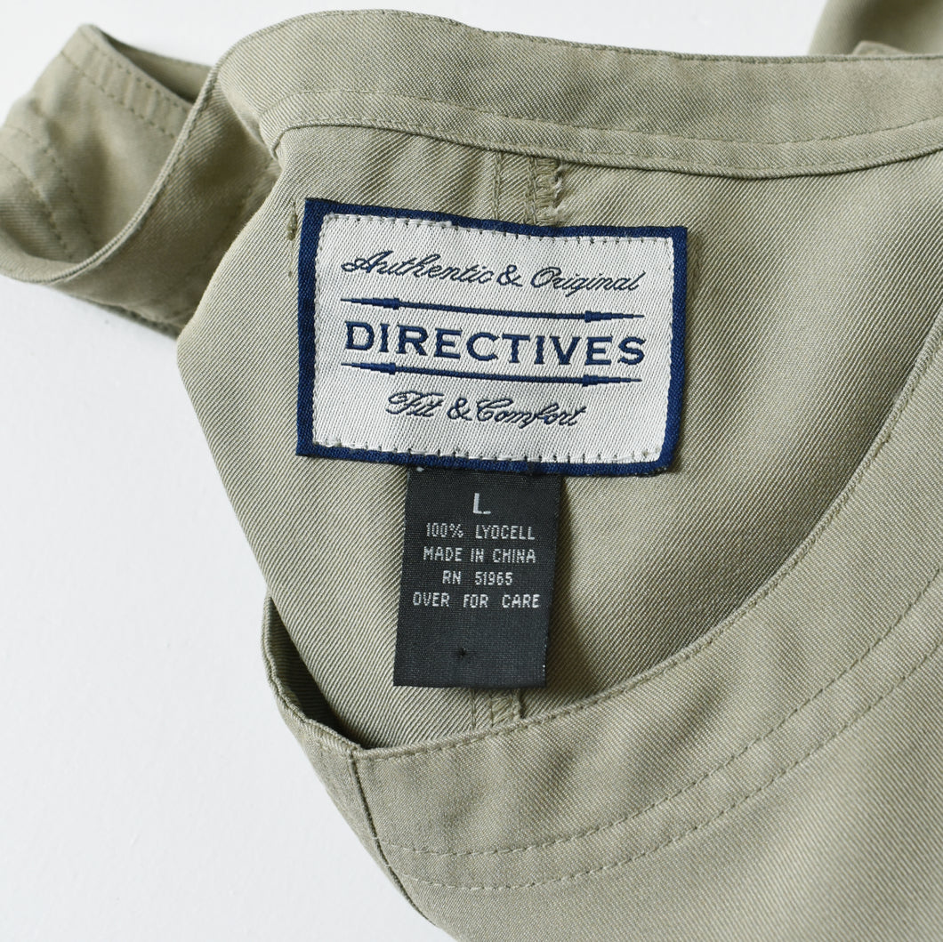 vintage white grid earrings