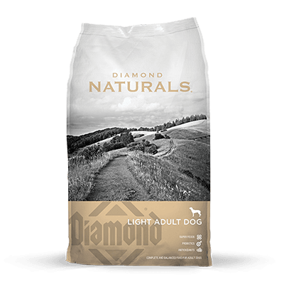 DIAMOND NATURALS LIGHT LAMB RICE ADULTO