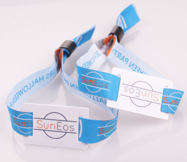Custom RFID Cloth Wristbands