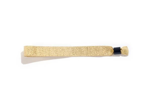 Gold Cloth Wristbands