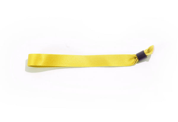Yellow Cloth Wristbands