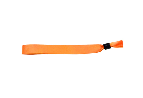 Orange Cloth Wristbands