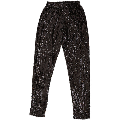 BLACK SEQUIN LEGGINGS Mens Leggings Sparklebutt