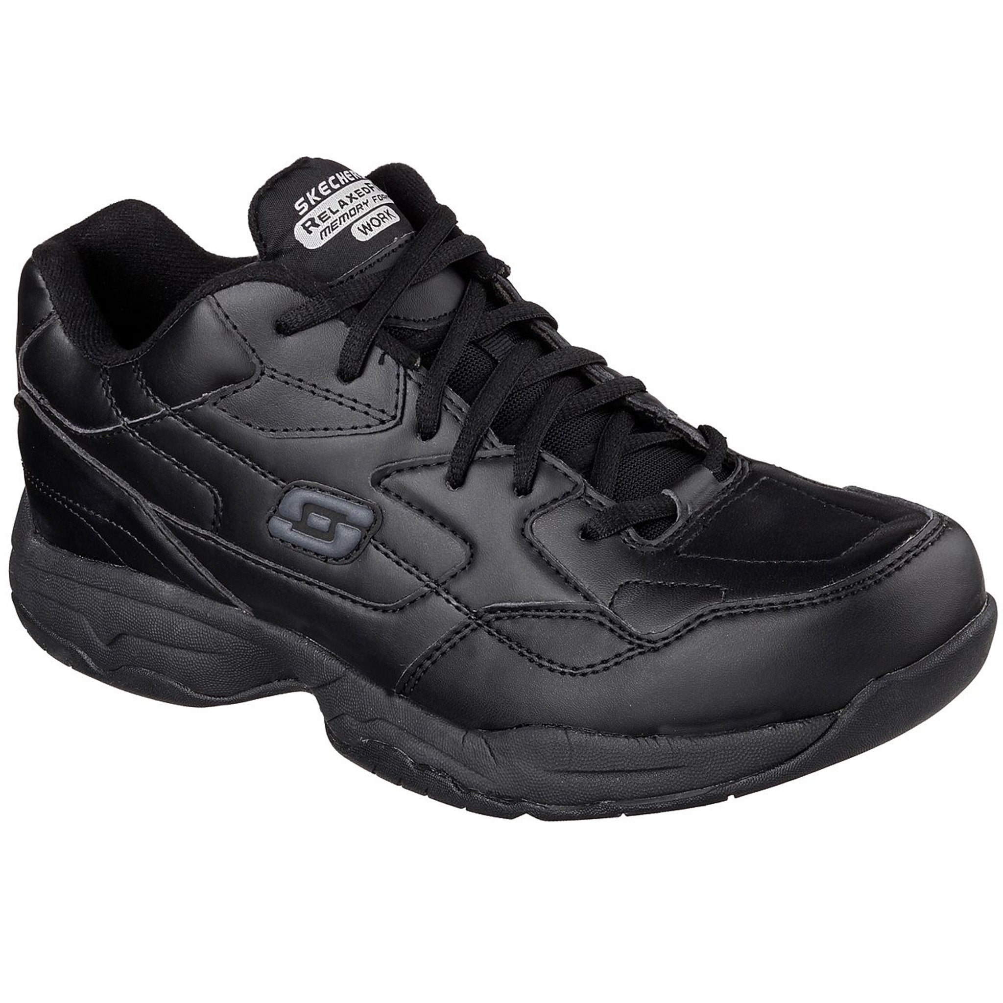skechers slip resistant memory foam shoes