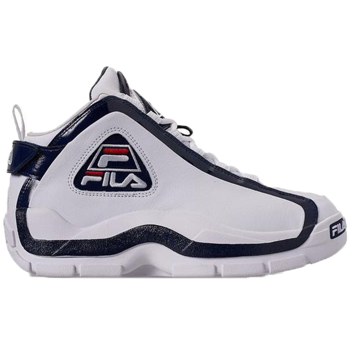 Fila Men's 96 Grant Hill Retro Basketball Shoes White Navy Red 1BM00569 125