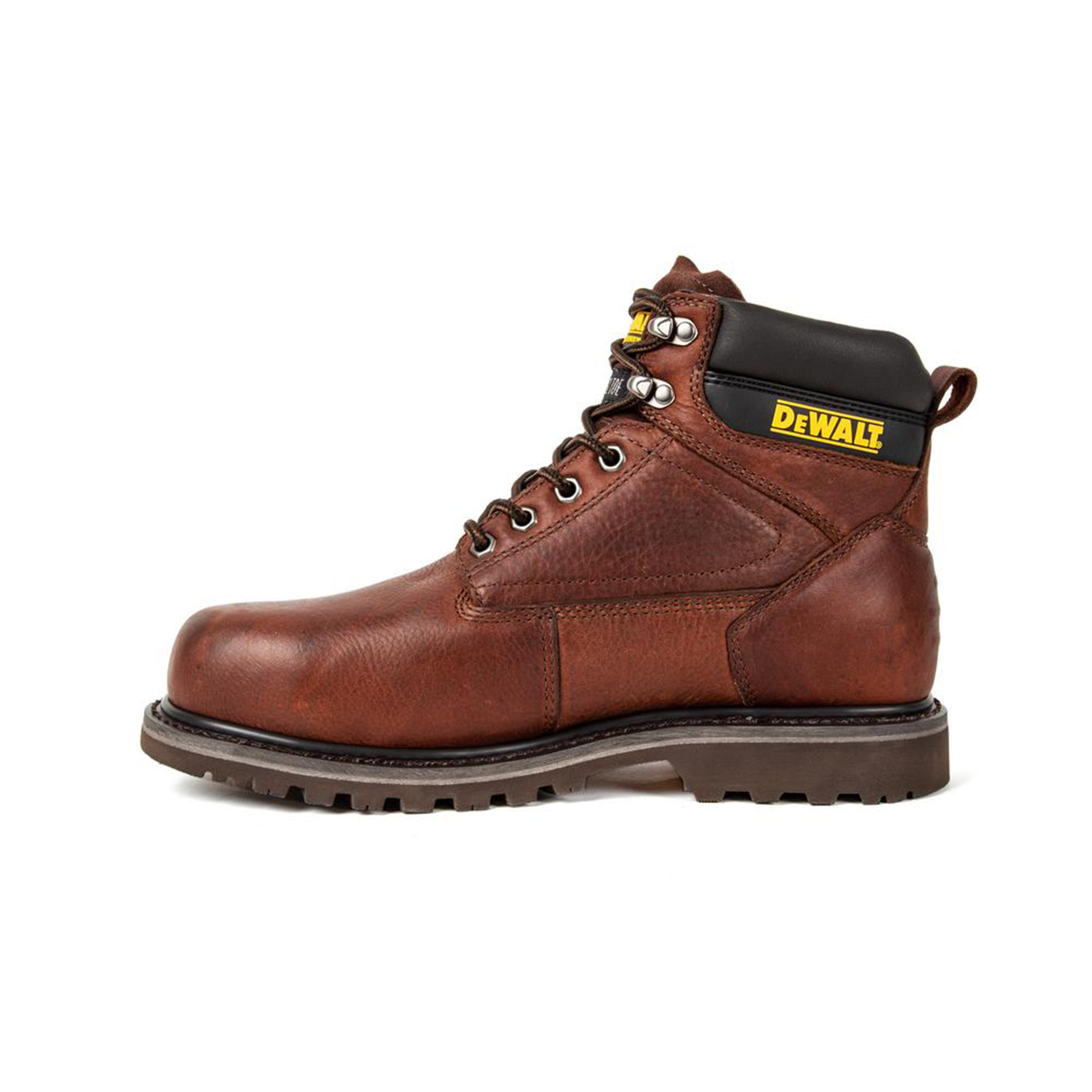 Dewalt Men S Axle Walnut Pitstop Leather Steel Toe Waterproof Work Boo That Shoe Store And More