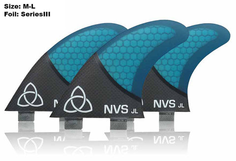 JL Thrusters (M-L) - Carbon Fiber-Naked Viking Surf