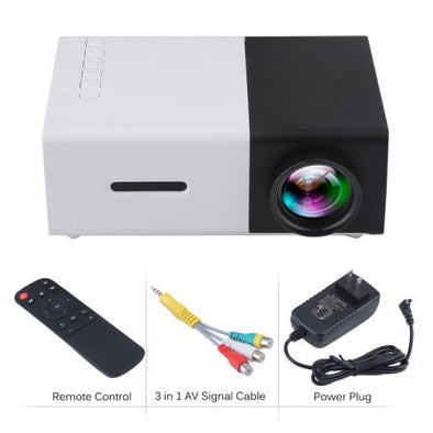 Mini Portable Home LED Projector Full HD 1080P