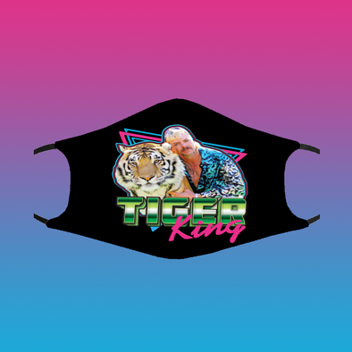 Tiger King Mask- Double Layer Washable Mask w/ PM2.5 Filter