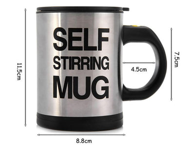 Self Stirring Insulated Mug