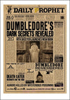 Harry Potter  Wanted Order Undesirable No.1 Vintage Retro Kraft Poster Posters.Daily prophet posters/ Sirius Black poster/5033