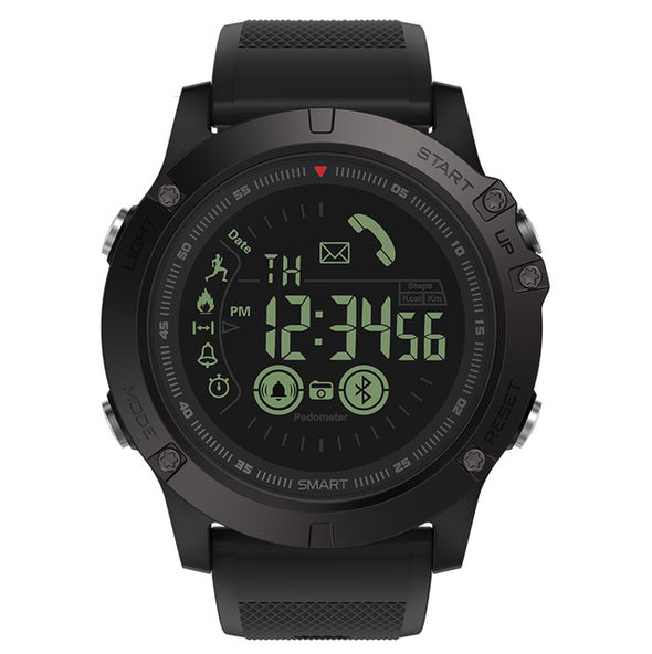 New Zeblaze VIBE 3 Flagship Rugged Smartwatch 33-month Standby Time 24h All-Weather Monitoring Smart Watch For IOS And Android