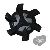 Softspikes® Stealth Bulk Golf Cleats (PINS) | Black/Gray