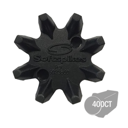 Softspikes® Black Widow Bulk Golf Cleats (Q-Lok) | Black