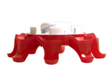 Softspikes Pulsar Bulk Golf Cleats (Tour Lock) | Cherry/White