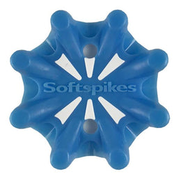 Softspikes® Pulsar Golf Cleats (Fast Twist® 3.0) | Solid Neon Blue/White