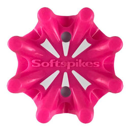 Softspikes® Pulsar Golf Cleats (Fast Twist® 3.0) | Solid Neon Pink/White