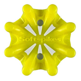 Softspikes® Pulsar Golf Cleats (Fast Twist® 3.0) | Solid Neon Yellow/White