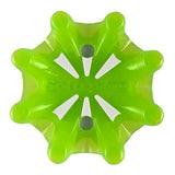 Softspikes® Pulsar Golf Cleats (Fast Twist® 3.0) | Translucent Neon Green/White