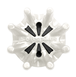 Softspikes Pulsar Golf Cleats (PINS) | White/Black