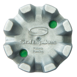 Softspikes® Shadow Golf Cleats (Fast Twist®) | Silver/Green