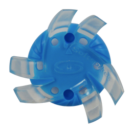 Softspikes® Silver Tornado (Fast Twist® 3.0) | Clear/Atomic Blue