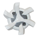 Softspikes Stealth Golf Cleats (PINS) | White/Silver