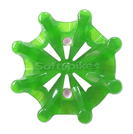 Softspikes Pulsar Golf Cleats (Tour Lock) | Slime/White