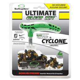 Softspikes® Ultimate Cleat Kit | Cyclone (Fast Twist®)