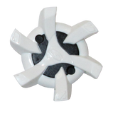 Softspikes Stealth Golf Cleats (PINS) | White/Black