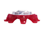 Softspikes Pulsar Golf Cleats (Tour Lock) | Berry/White