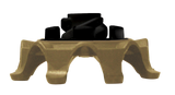 Softspikes Pulsar Golf Cleats (Fast Twist) | Gold/Black