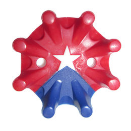 Softspikes Pulsar Golf Cleats (Fast Twist) | Red/White/Blue Star
