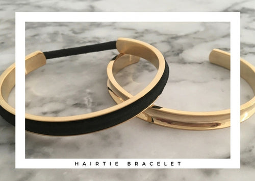 Slim Hair Tie Bangle