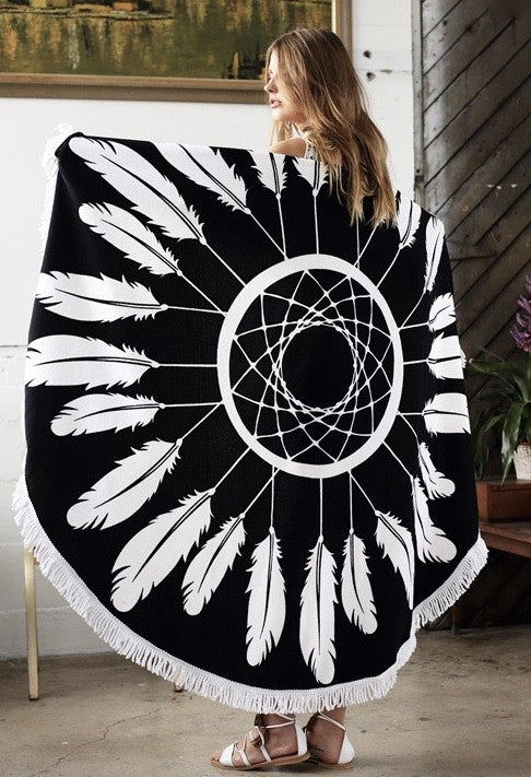 Dream Catcher Beach Blanket