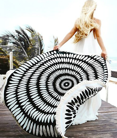 'Round the World Beach Blanket