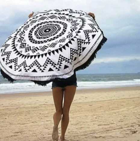 Geometry Beach Blanket
