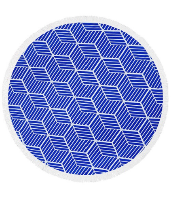 Hexagon Beach Blanket