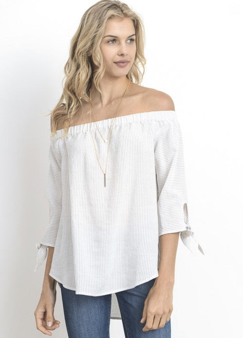 Bare Shoulder Top