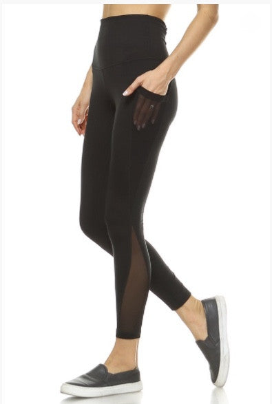 Mesh Pocket Yoga Legging
