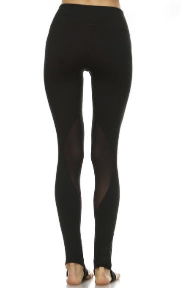 Mesh Diamond Yoga Legging