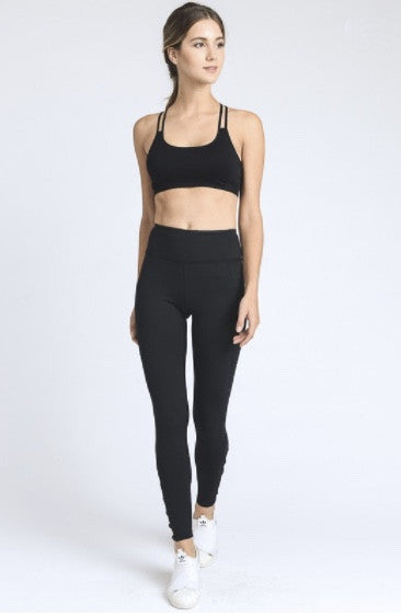 Diamond Sports Bra- Black